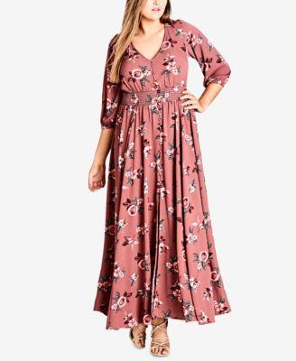 22w maxi dress