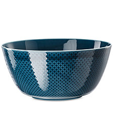 Rosenthal Junto Ocean Blue Serving Bowl
