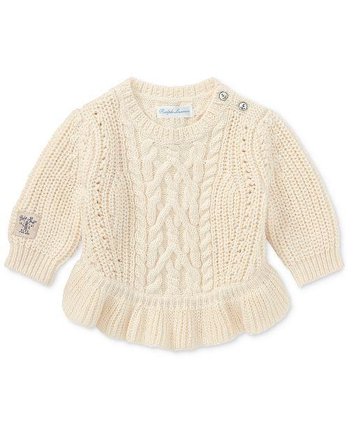 95d1e24e2 Ralph Lauren Peplum Sweater