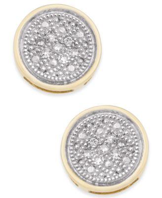baby diamond earrings shop for and buy baby diamond earrings