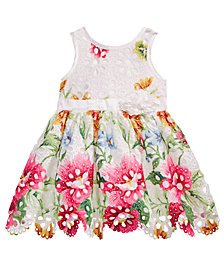 Nanette Lepore Printed Lace Dress, Baby Girls