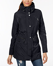 MICHAEL Michael Kors Funnel-Collar Hooded Anorak