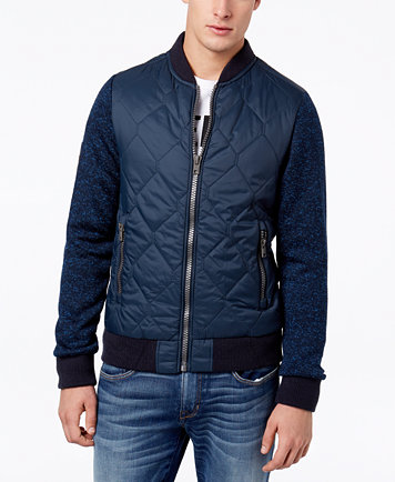 Superdry Men's Storm Mountain Quilted Bomber Jacket - Coats ... : quilted bomber jacket men - Adamdwight.com