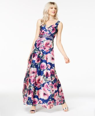 Printed Gown Dresses