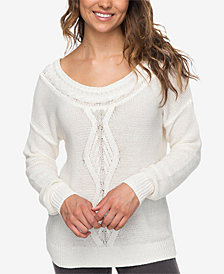 Roxy Juniors' Drop-Sleeve Sweater