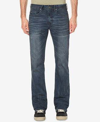 Buffalo David Bitton Men's King X Slim Bootcut Fit Stretch Jeans