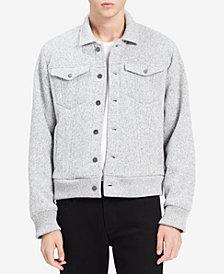 Calvin Klein Jeans Men's Bonded Fleece Trucker Jacket