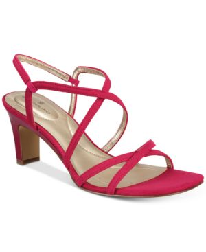 Bandolino Obexx Slip-On Strappy Sandals Women's Shoes 5595943