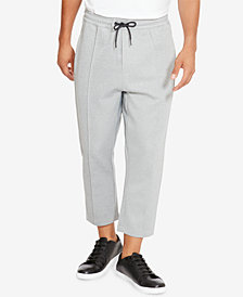 Kenneth Cole Men's Cropped Knit Jogger Pants
