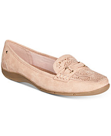 Karen Scott Jazyy Perforated Loafers, Created for Macy's