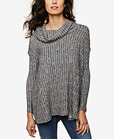 Motherhood Maternity Nursing Cowl-Neck Sweaater