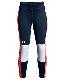 Under Armour UA Colorblocked Cropped Leggings, Big Girls