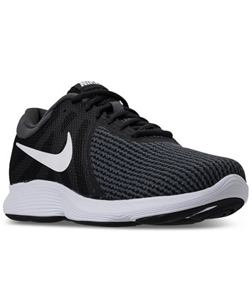 Image 1 of Nike Men's Revolution 4 Wide Width (4E) Running Sneakers from  Finish