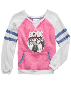 Awake Acdc GraphicPrint Sweatshirt Big Girls (716)