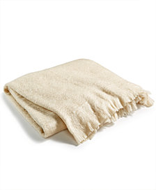 "LAST ACT! Lacourte Mohair 50"" x 60"" Throw Blanket, Created for Macy's"