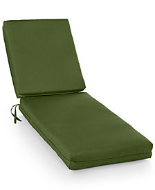 Sunbrella Outdoor Chaise Cushions, Quick Ship