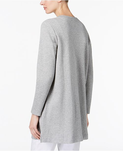 8ca49093ea5 Eileen Fisher Organic Cotton Patch-Pocket Tunic & Reviews - Tops ...