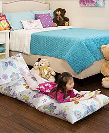 """Mi Zone Kids Fluttering Farrah 26"""" x 100"""" Caterpillow Long Pillowcase"""