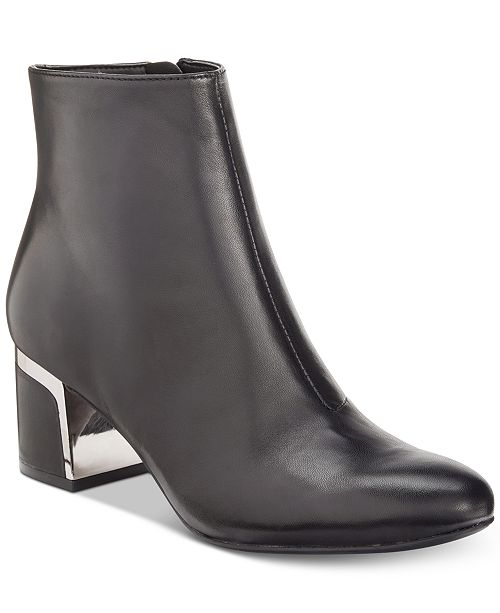57a07088be7 DKNY Corrie Ankle Booties, Created For Macy's & Reviews - Boots ...