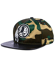 Pro Standard Washington Redskins Woodland Strapback Cap