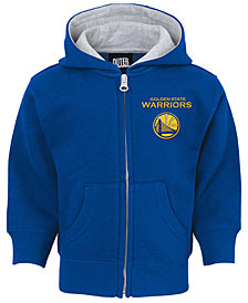 Outerstuff Golden State Warriors Pledge Full-Zip Hoodie, Infants (12-24 Months)