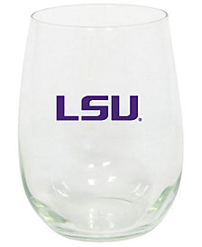 Memory Company LSU Tigers Stemless Wine Glass