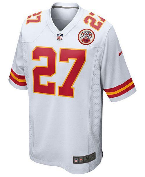 lowest price 260a2 55ab8 Nike Men's Kareem Hunt Kansas City Chiefs Game Jersey ...