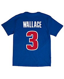 Men's Ben Wallace Detroit Pistons Hardwood Classic Player T-Shirt