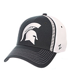 Zephyr Michigan State Spartans Pattern Pipe Stretch Cap