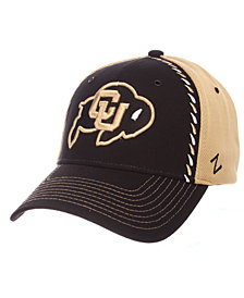 Zephyr Colorado Buffaloes Pattern Pipe Stretch Cap