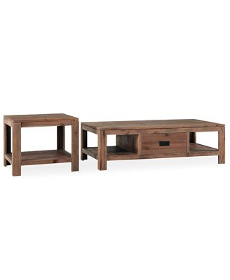 champagne tables, 2 piece set (coffee table and end table