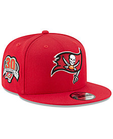 New Era Tampa Bay Buccaneers Anniversary Patch 9FIFTY Snapback Cap