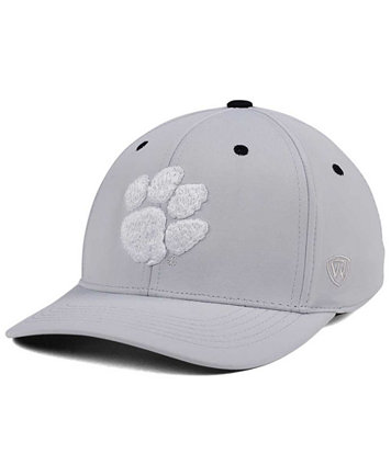 ed02daf0596 ... australia top of the world clemson tigers grype stretch cap sports fan  shop by lids men