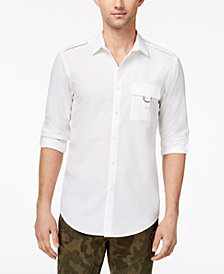 I.N.C. Men's Button-Down Shirt, Created for Macy's