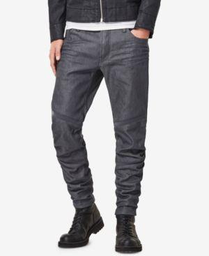 G-Star Raw Men's Motac 3D Slim-Fit Moto Jeans 5337194