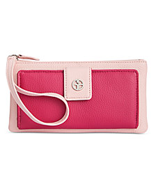 Giani Bernini Colorblock Softy Leather Grab & Go Wristlet, Created for Macy's