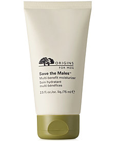 Origins Save the Males Multi-Benefit Moisturizer 2.5 oz.