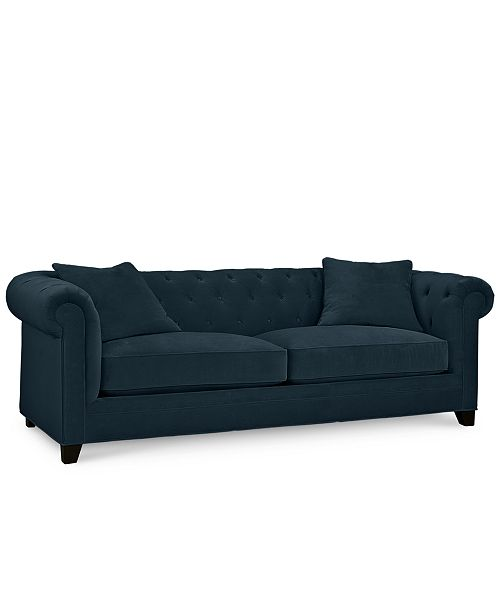 "Martha Stewart Collection Saybridge 92"" Fabric Sofa - Custom Colors, Created for Macy's"
