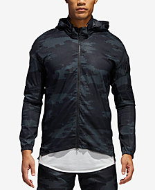 adidas Men's Supernova TKO Camo Packable Windbreaker