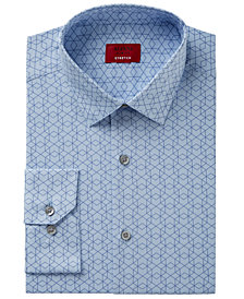 Alfani Men's Slim-Fit Stretch Prism Print Dress Shirt, Created for Macy's