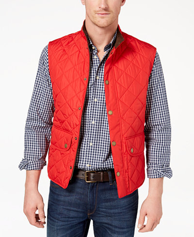 Barbour Men's Lowerdale Vest, Created for Macy's