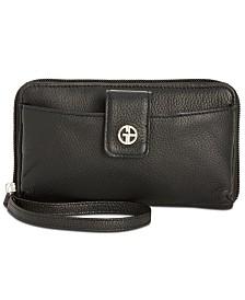 Giani Bernini Softy Leather Tech Wristlet, Created for Macy's