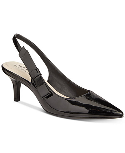 Alfani Women's Step 'N Flex Bennii Slingback Pumps, Created For Macy's