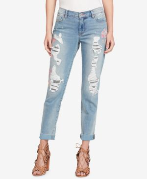 Jessica Simpson Mika Ripped Boyfriend Jeans 5486945