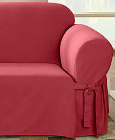 Sure Fit Duck Loveseat Slipcover