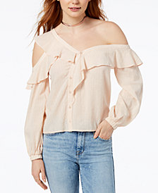 ASTR The Label  Paige Off-The-Shoulder Top