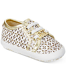 Michael Kors Baby Borium Perforated Sneakers, Baby Girls