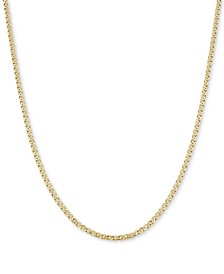 "20"" Nonna Link Chain Necklace (3-3/4mm) in 14k Gold"