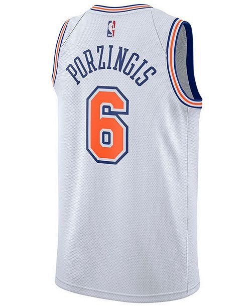 d597751b55c Nike Men s Kristaps Porzingis New York Knicks Statement Swingman Jersey ...