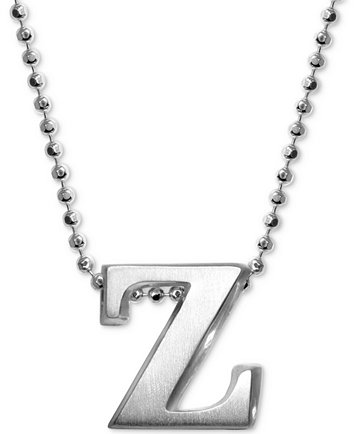 Alex woo z initial pendant necklace in sterling silver necklaces z initial pendant necklace in sterling silver aloadofball Gallery
